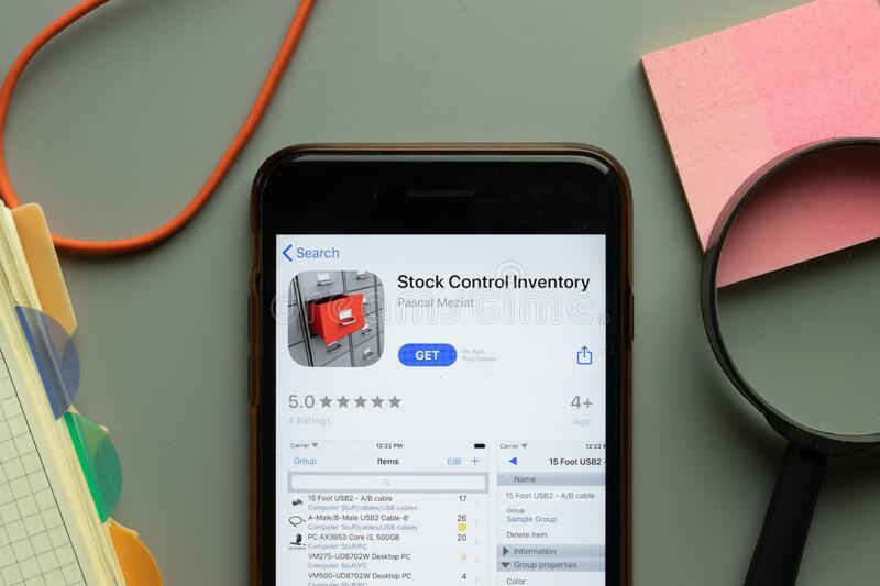 new-york-usa-october-stock-control-inventory-mobile-app-logo-phone-screen-close-up-illustrative-editorial-200015627